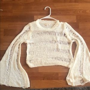 Cropped Sweater - never worn